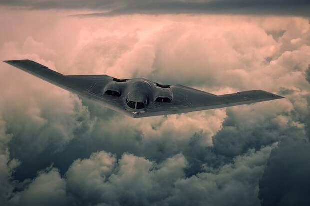 Захватывающее видео: полет трех стратегических бомбардировщиков ВВС США