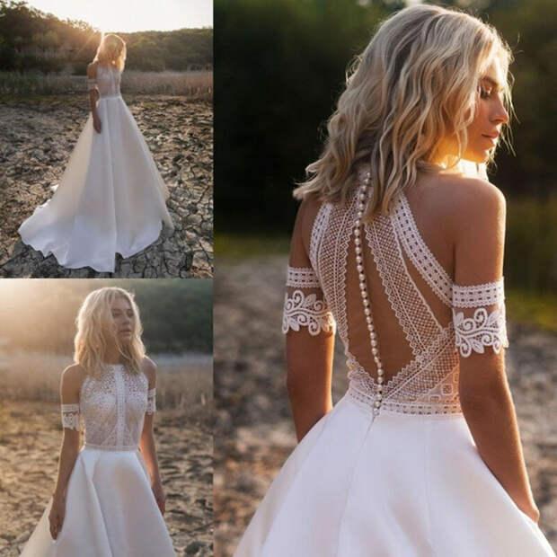 12 огненных трендов в свадебных платьях 2021 году