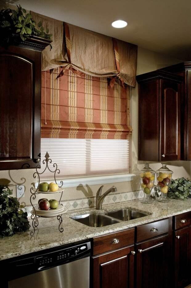 Как выбрать модные шторы для кухни?