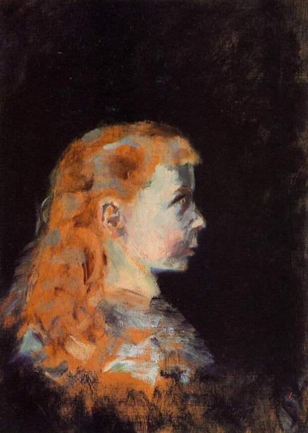 Портрет ребенка - Анри де Тулуз-Лотрек