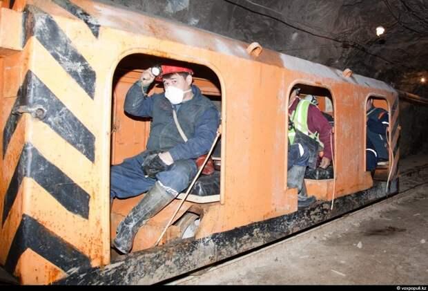 Между прочим, горняки не любят, когда их называют шахтерами. Шахтеры добывают уголь, а горняки -...