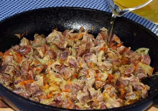 Рецепт на выходные. Семь рецептов приготовления куриных желудков