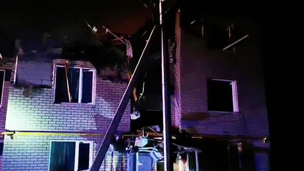 Взрыв в жилом доме в Нижегородской области