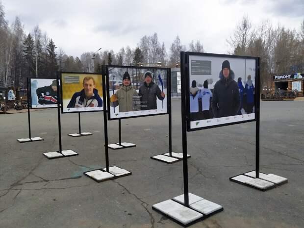 В Ижевске открылась уличная фотовыставка «Герои среди нас»