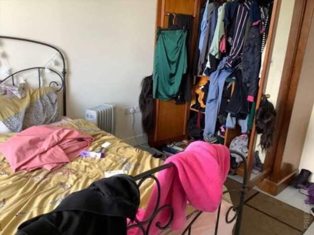 Конкурс «Самая грязная спальня в Британии»