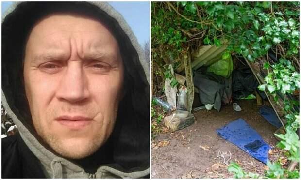 Литовец, которого считали убитым, пять лет прятался ванглийском лесу