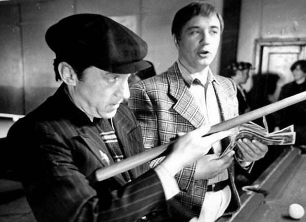 Интересные фото со съёмок популярных советских фильмов