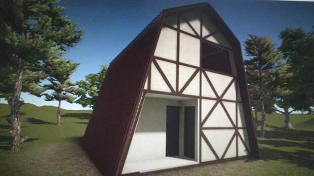 дизайн-проект дома в стиле фахверк