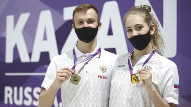 Мальцев и Платонова принесли России восьмое золото ЧЕ по водным видам спорта
