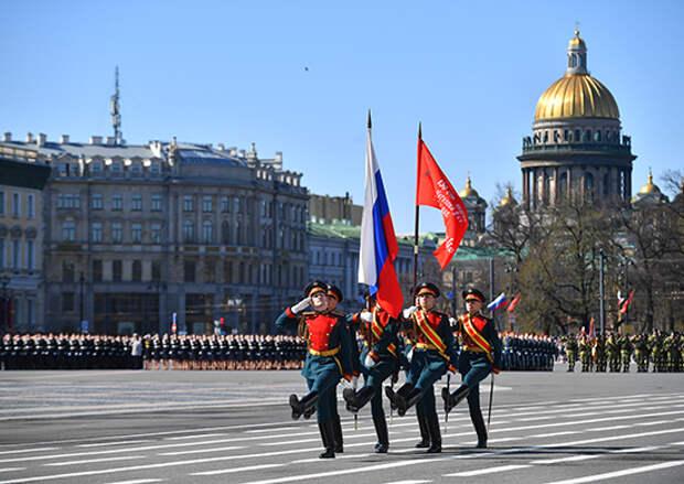 В Санкт-Петербурге состоялся Парад Победы