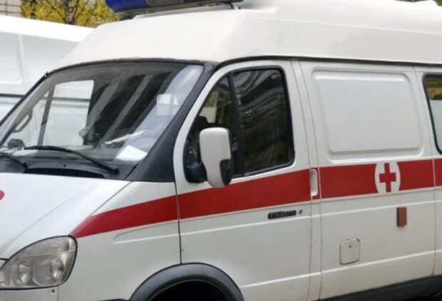В Симферополе перевернулась машина «скорой помощи»