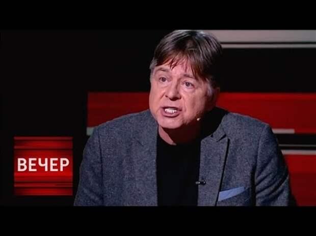 Актер Андрис Лиелайс: «Эксперт по русскому вопросу» прибалтывает В.Соловьева