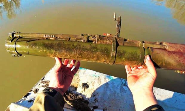 Бросили поисковый магнит в болото