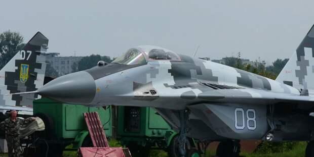 На Украине рассказали, в чём заключалась модернизация истребителя МиГ-29