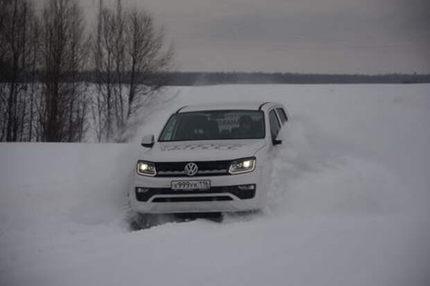 Volkswagen Amarok: гламур в сапогах