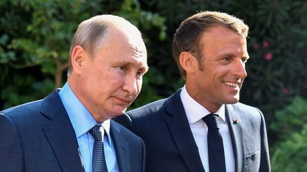 Макрон напрашивается на переговоры с Путиным