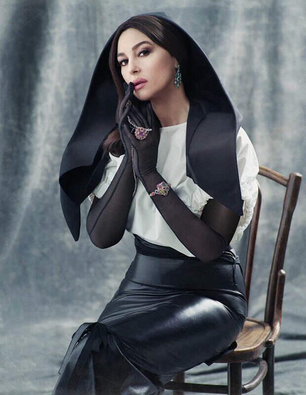 Красивейшая фотосессия Моники Беллуччи – завораживает и сражает великолепием.