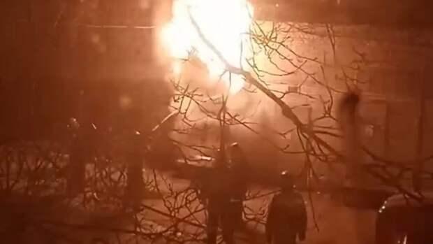 В подмосковном Домодедове взорвался автомобиль