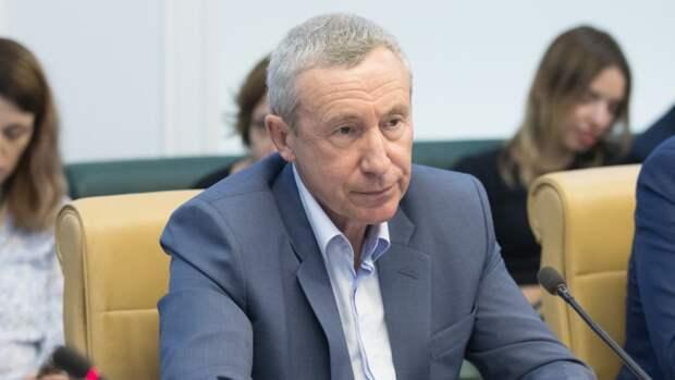 """Сенатор Климов назвал бредом заявление Рааба о """"преступлениях"""" РФ в киберпространстве"""