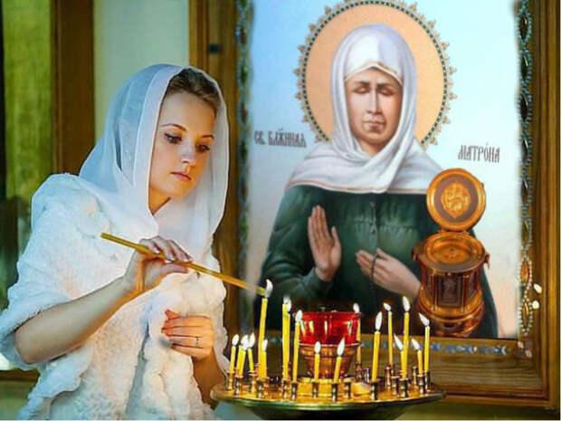 2 мая  День памяти святой блаженной Матроны Московской