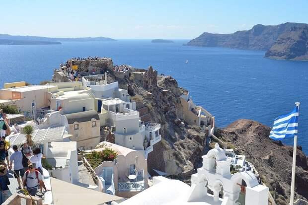 Греция разрешила приезжать неограниченному числу россиян