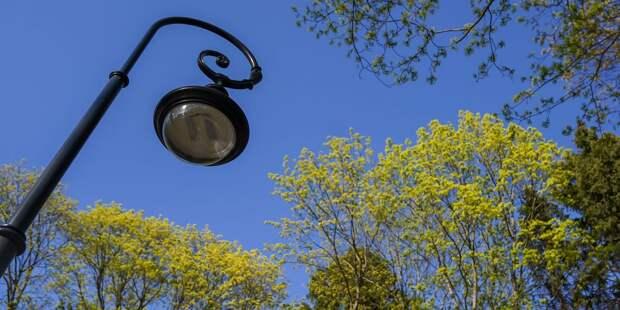 В Южном Тушине установят 155 новых уличных фонарей