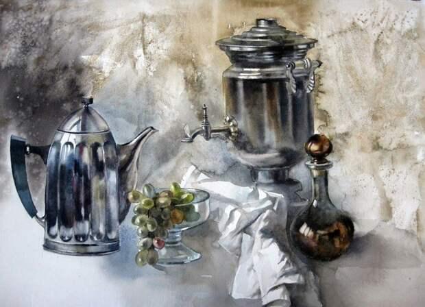 Акварели Александра Карпана: живые, чистые, колоритные!