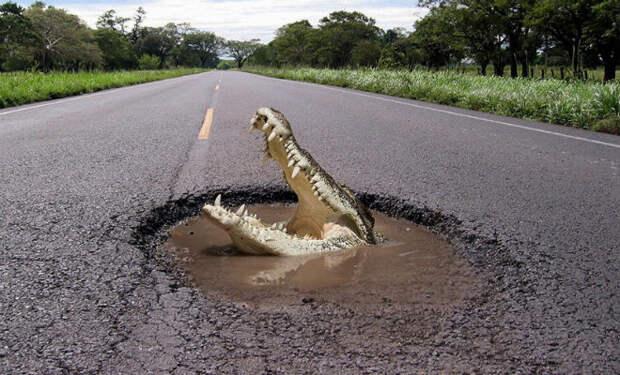 Самые плохие дороги России