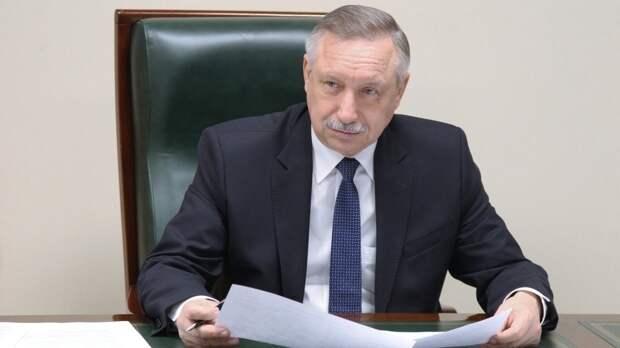 Беглов грамотно ответил на провокационное заявление Вишневского о незаконных акциях