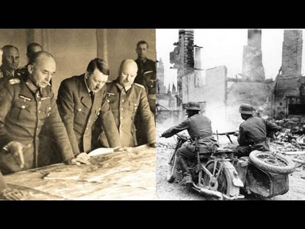 План «БАРБАРОССА». Почему стратегия БЛИЦКРИГА у немцев с Союзом НЕ СРАБОТАЛА?