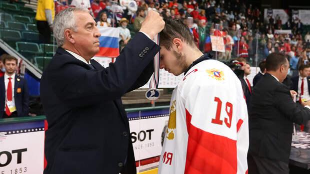 Россия вшестой раз выиграла серебряные медали юниорского чемпионата мира
