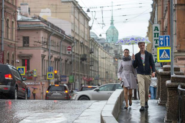 В Петербург возвращаются дожди