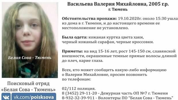 В Тюмени третий день ищут молодую девушку