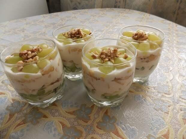 Десерт слоями