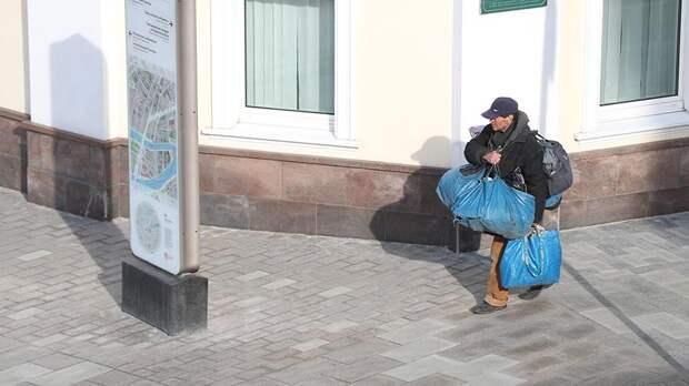 В России предложили создать реестр бездомных людей