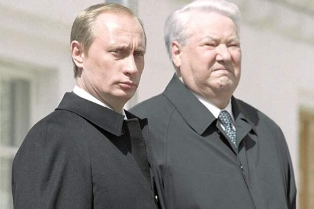 Названа причина, по которой Ельцин выбрал Путина своим преемником