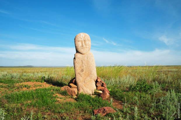 Одно из немногих мест, где сохранились изваяния, – Баянаулский район Павлодарской области
