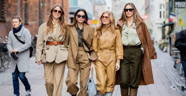 Как модно одеваться осенью: модные осенние образы 2021 в коричневом