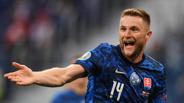 Тренер сборной Словакии: Шкриньяр отлично сыграл в матче с Польшей