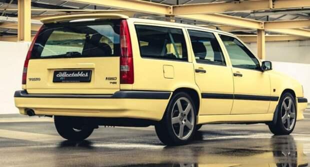 Редкий универсал Volvo 850 T-5R Estate в фирменном цвете выставлен на торги за полмиллиона рублей