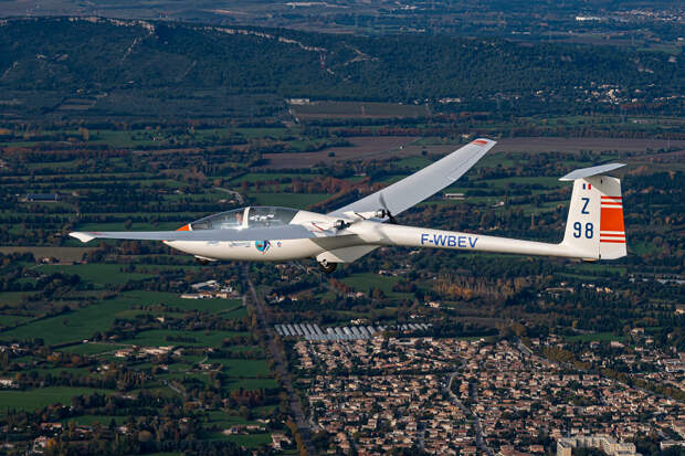 Проект электрического планера Euroglider скоро перейдет от этапа испытаний к производству