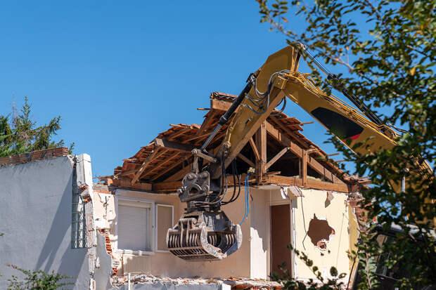 Региональные власти получат право сносить любое жильё