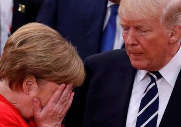 Германия восстаёт против США: Меркель устроила скандал Трампу