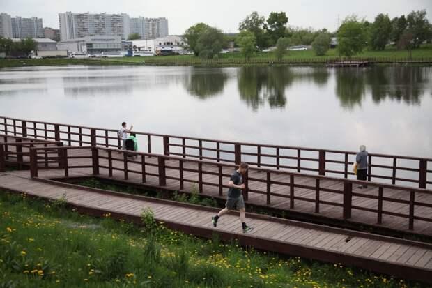 Парки и водоёмы СВАО обработали от клещей и комаров