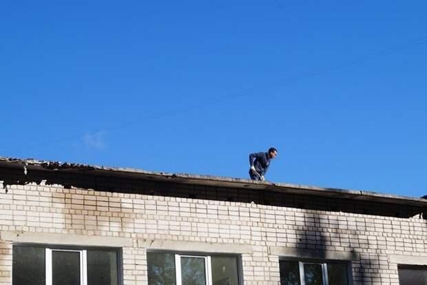 Ремонт плоских крыш в школах и садах Ижевска завершат не позднее 30 сентября