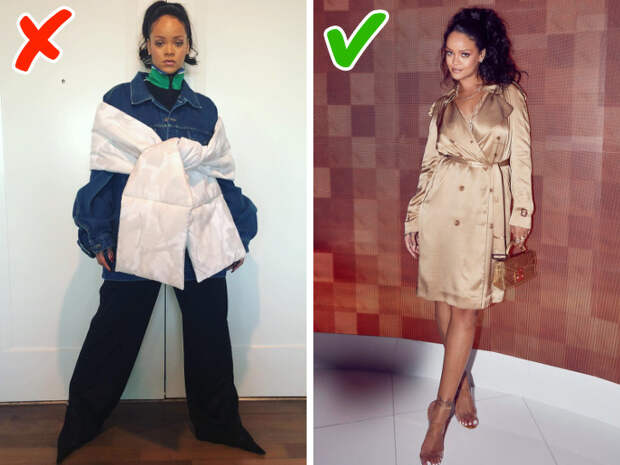 Как с помощью одежды скрыть изъяны фигуры