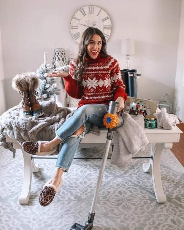 Новогодние свитера: 20 идей для создания праздничного настроения