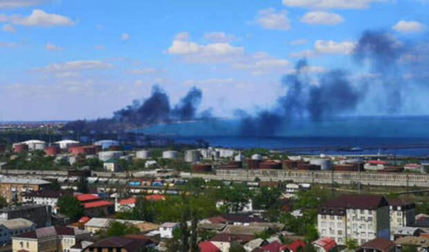 5тыс. тонн мазута загорелись вДагестане