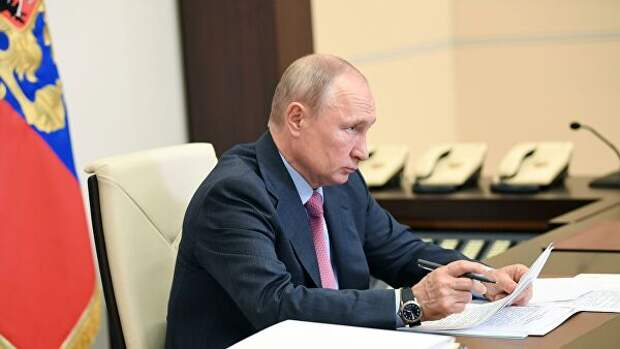 Путин: надо понять, как работать после снятия ограничений по COVID-19