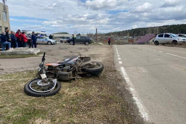 В Костроме мотоциклист требует миллион рублей из-за аварии